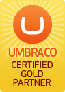 Umbraco Certified Gold Partner
